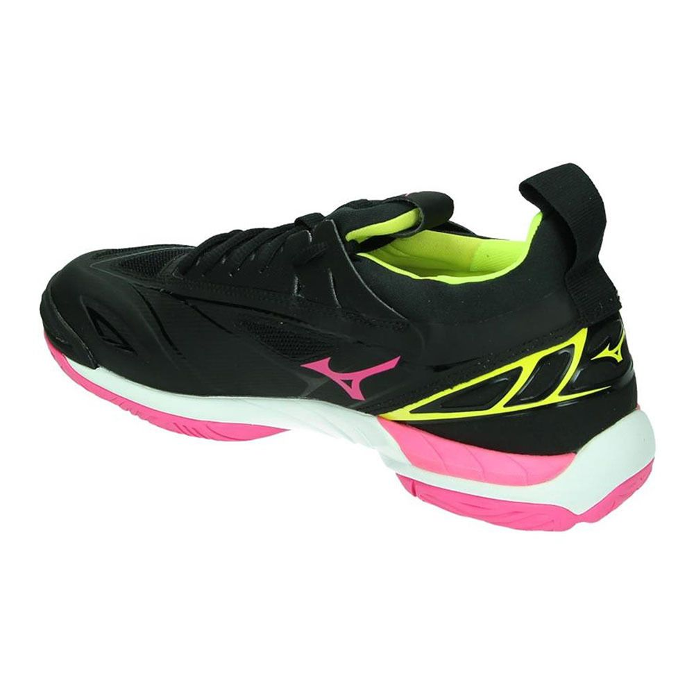 de MIRAGE Chaussures blackpinkglosyellow femme WAVE handball 2 dexrBCo