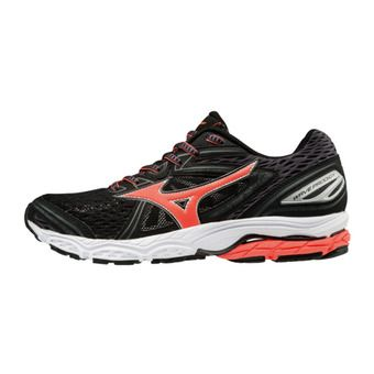 Zapatillas de running mujer WAVE PRODIGY black/fierycoral/magnet