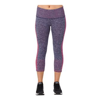 Asics ESSENTIALS - 3/4 Tights - Women's - dark blue/coralicious
