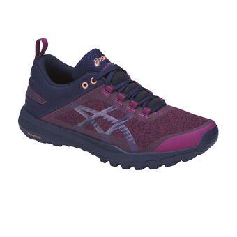 Zapatillas de trail mujer GECKO XT baton red/indigo blue/begonia pink