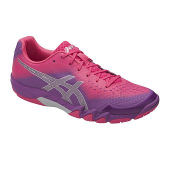 Asics BLADE 6 - Chaussures badminton Femme orchid/prune/rouge red