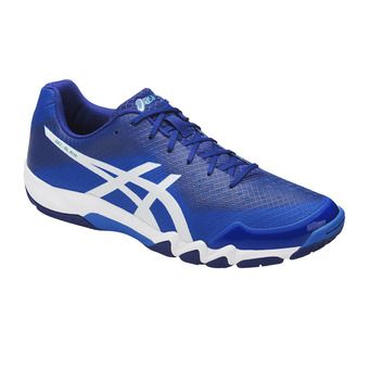Chaussures badminton homme BLADE 6 directoire blue/white/limoges