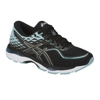 Asics GEL-CUMULUS 19 - Running Shoes - Women's - black/porcelain blue/white
