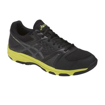 Chaussures handball homme GEL-DOMAIN 4 black/dark grey/energy green