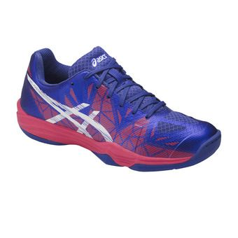 Chaussures handball femme GEL-FASTBALL 3 blue purple/white/rouge red