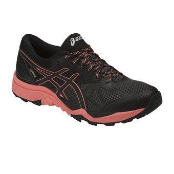 Asics GEL-FUJITRABUCO 6 GTX - Trail Shoes - Women's - black/begonia pink