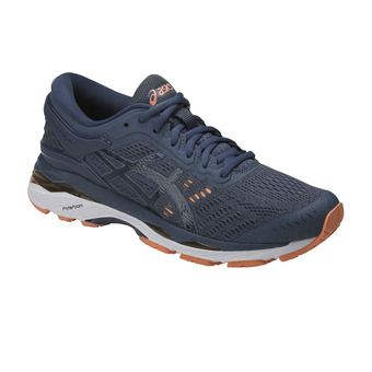 Chaussures running femme GEL-KAYANO 24 smoke blue/dark blue/canteloupe