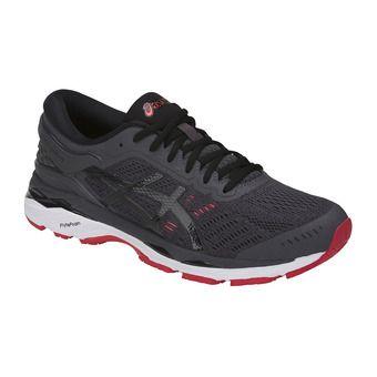 Chaussures running homme GEL-KAYANO 24 dark grey/black/fiery red