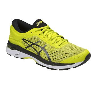 Asics GEL-KAYANO 24 - Chaussures running Homme sulphur spring/black/white