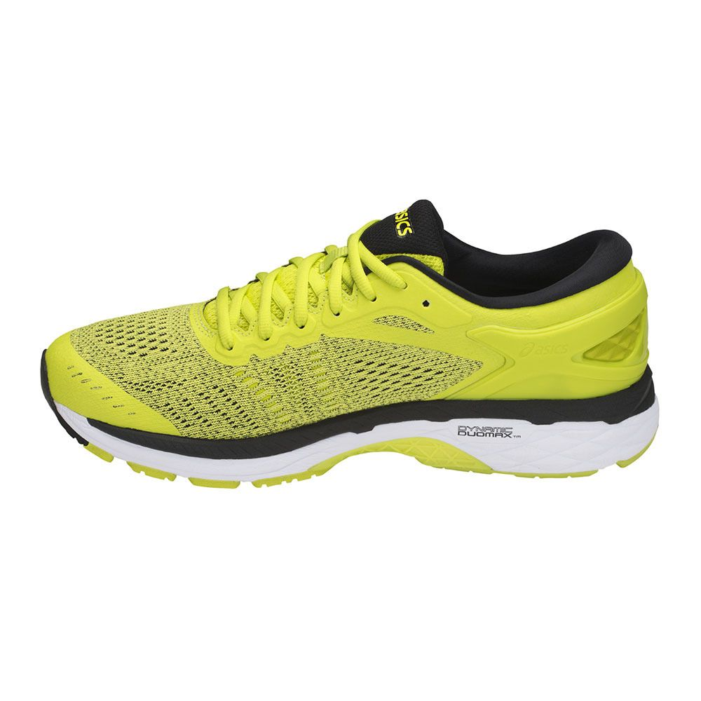 ed79d43a7b46a Running Shoes - Men s - GEL-KAYANO 24 sulphur spring black white ...