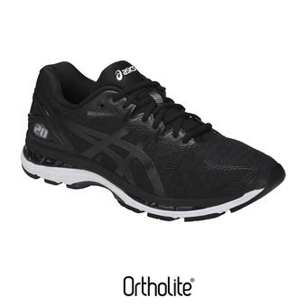 Asics GEL-NIMBUS 20 - Chaussures running Homme black/white/carbon