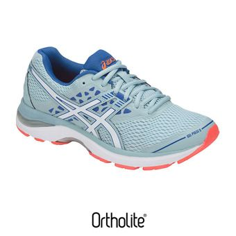 Chaussures running femme GEL-PULSE 9 porcelain blue/white/victoria blue
