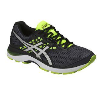 Zapatillas de running hombre GEL-PULSE 9 carbon/silver/safety yellow