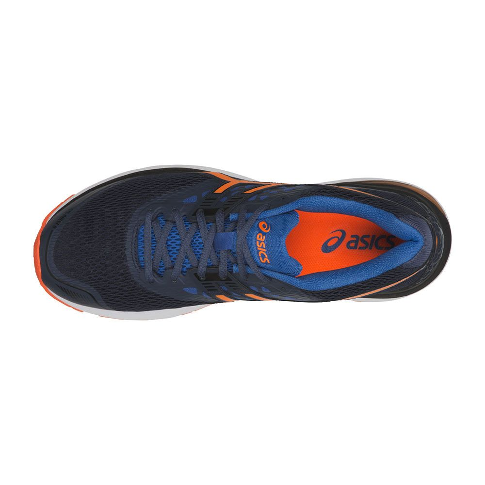 9 Gel Chaussures Dark Homme Blueshocking Running Pulse Orange wqFgUS4