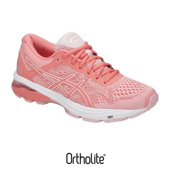 Asics GT-1000 6 - Chaussures running Femme seashell pink/begonia pink/white