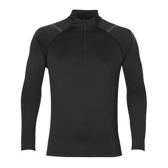 Maillot ML 1/2 zip homme ICON performance black