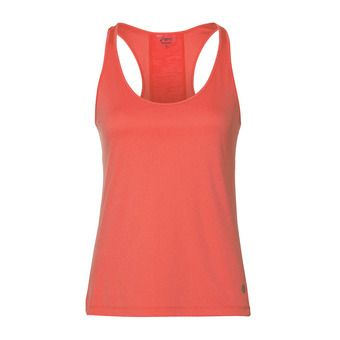 Camiseta de tirantes mujer LOOSE coralicious heather