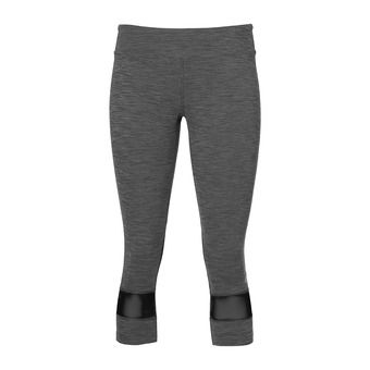 Mallas 3/4 mujer MELANGE performance black heather