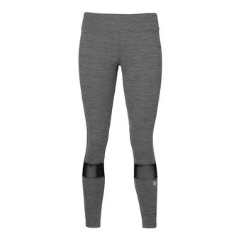 Mallas 7/8 mujer MELANGE performance black heather