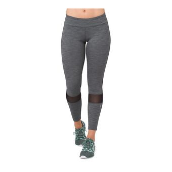 Asics MELANGE - 7/8 Tights - Women's - performance black heather