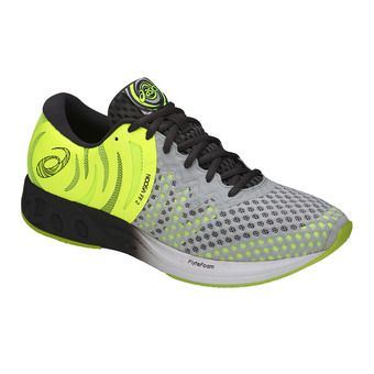 Asics NOOSA FF 2 - Zapatillas triatlón hombre glacier grey/dark grey/safety yellow