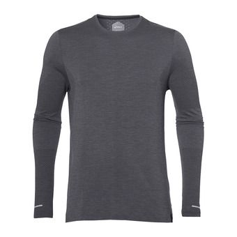 Asics SEAMLESS - Camiseta hombre dark grey heather