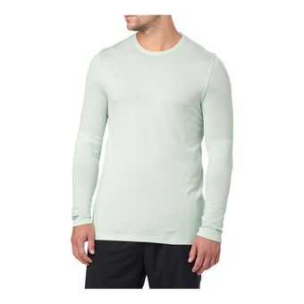 Asics SEAMLESS - Maillot Homme sprout green heather