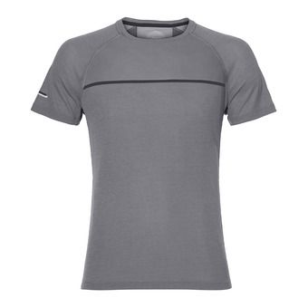 Asics TOP - Camiseta hombre dark grey heather