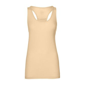Asics CLASSIC - Tank Top - Women's - apricot ice heather