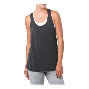 Asics CLASSIC - Camiseta de tirantes mujer black heather