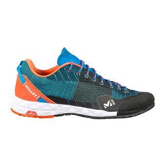 Millet AMURI - Chaussures d'approche electric blue/orange