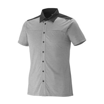 SS Shirt - Men's - CLOUD PEAK WOOL smoked pearl