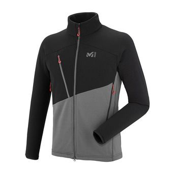 Millet ELEVATION POWER - Fleece - Men's - tarmac/black
