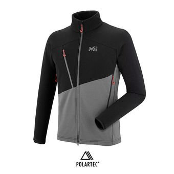 Millet ELEVATION POWER - Polaire Homme tarmac/black