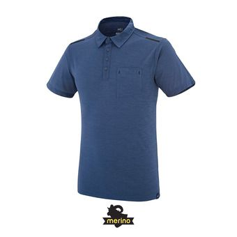 Polo MC homme IMJA WOOL ink