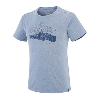 Camiseta hombre ITASCA teal blue
