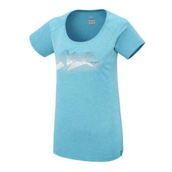 Tee-shirt MC femme ITASCA pool blue