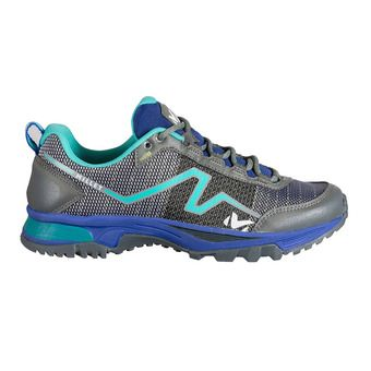 Millet OUT RUSH - Chaussures trail Femme purple blue/pool blue