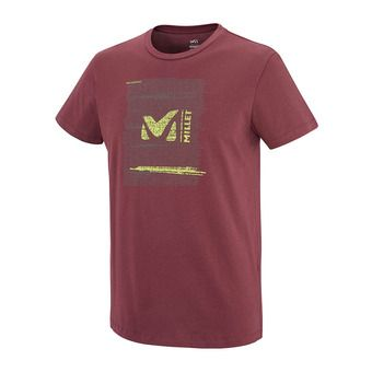 Tee-shirt MC homme RISE UP burgundy
