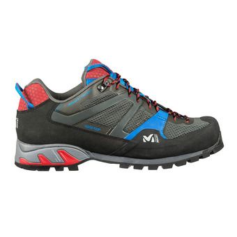 Millet TRIDENT GTX - Approach Shoes - Men's - grey/red
