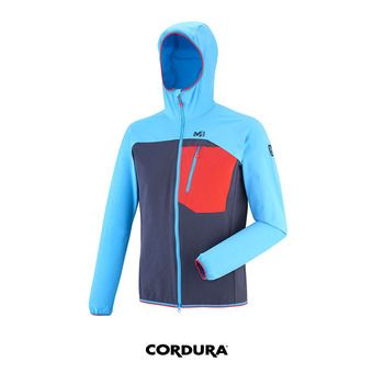 Chaqueta hombre TRILOGY ONE CORDURA saphir/light sky