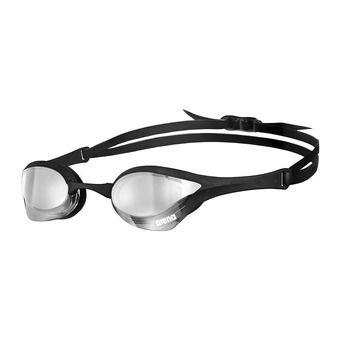 Arena COBRA ULTRA MIRROR - Lunettes de natation silver black/black