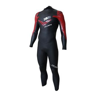 Combinaison triathlon homme ATLANTE black/red