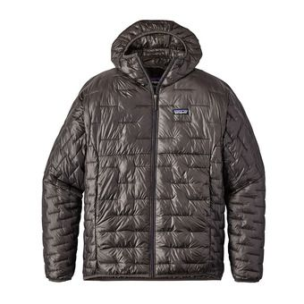 Hooded Down Jacket - Men's - MICRO PUFF forge grey