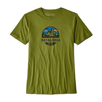 Tee-shirt MC homme FITZ ROY SCOPE ORG sprouted green