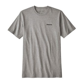 Patagonia P-6 LOGO RESP - Tee-shirt Homme gravel heather
