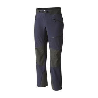Mountain Hardwear TOUREN - Pantalón hombre dark zinc