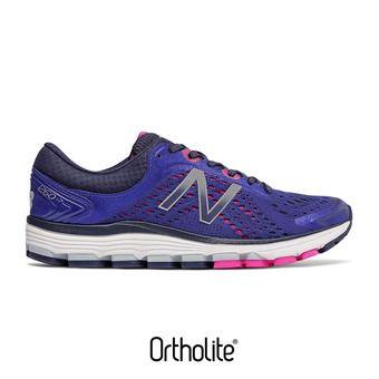 Zapatillas de running mujer 1260 V7 blue iris