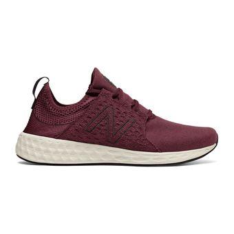 Chaussures running homme CRUZ burgundy