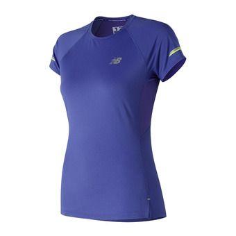 New Balance ICE 2.0 - Camiseta mujer blue iris